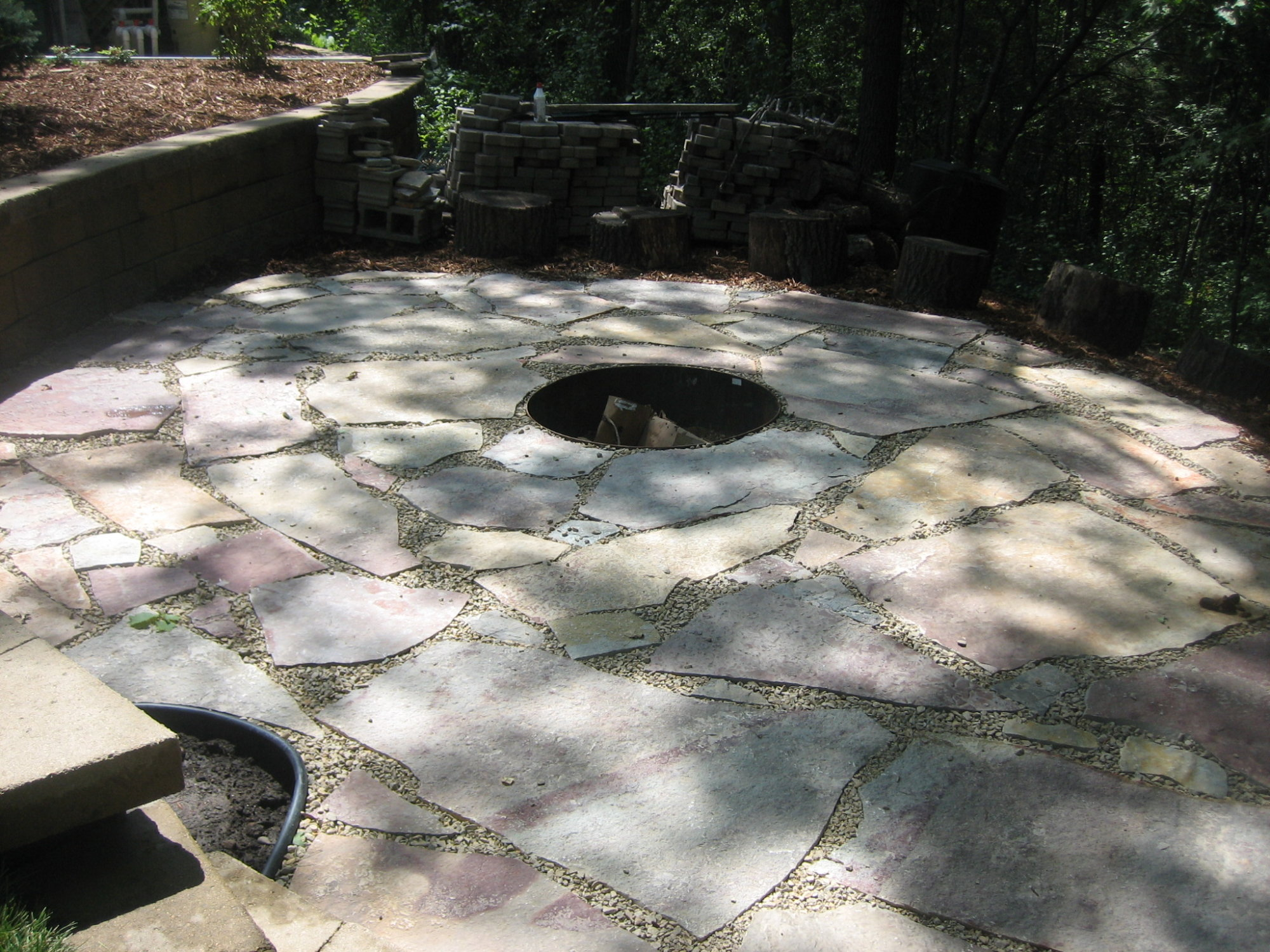 Flagstone Patio Installation In Lakeville Pahl S Market Apple