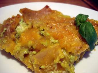 scalloped potatoes and butternut squash
