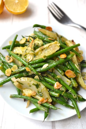 Green Bean and Roasted Fennel Salad
