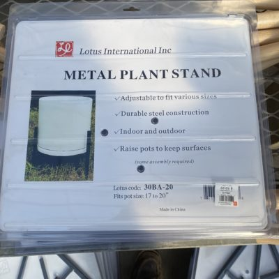 14 Inch Tall Plant Stand
